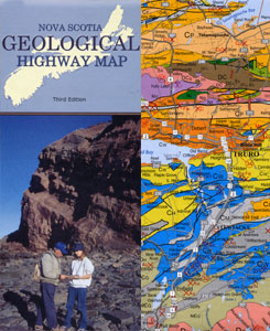 NS Geologic Highway Map