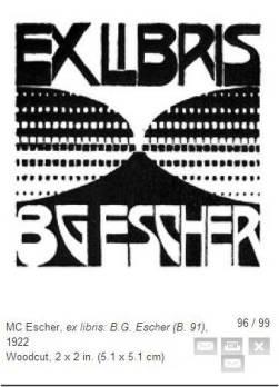 Escher woodcut volcano for Berend