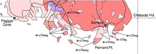 Peninsula geology