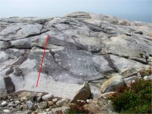 pennant point highlighted striae