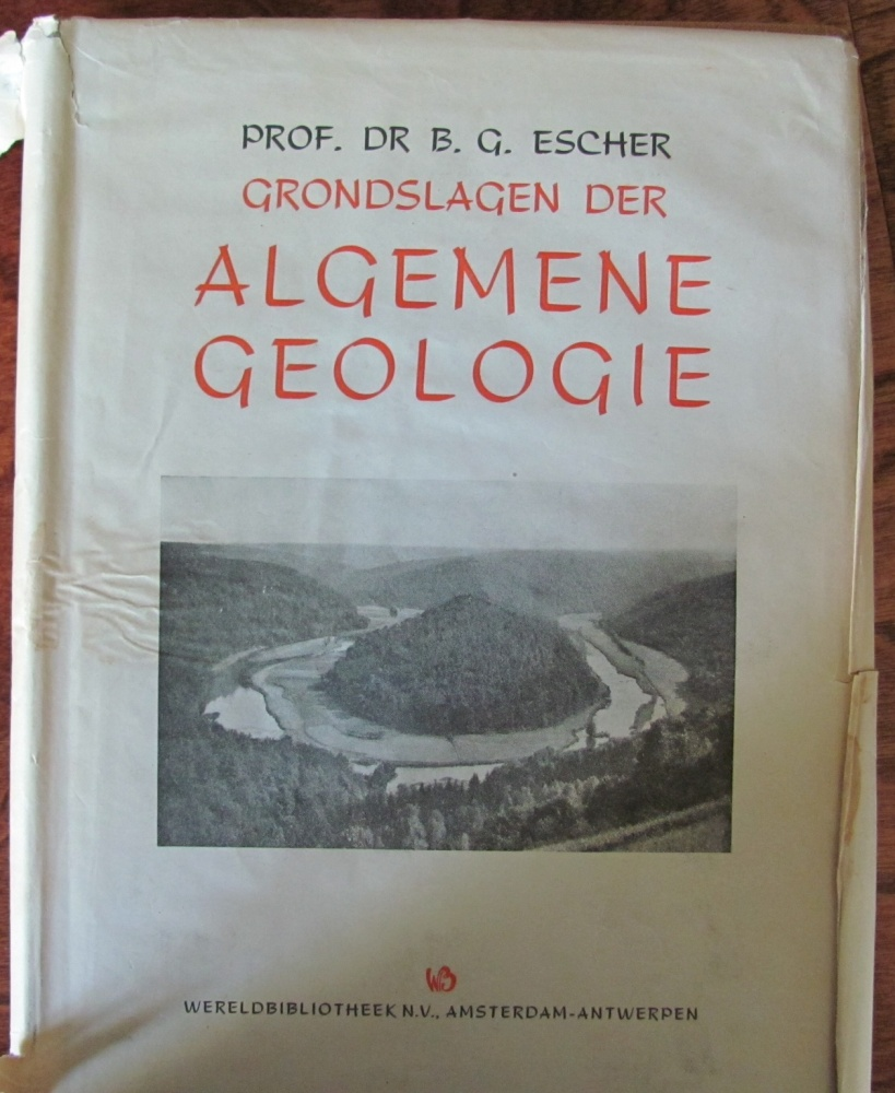 The graphic artist M.C. Escher and his connections with geology (5/6)