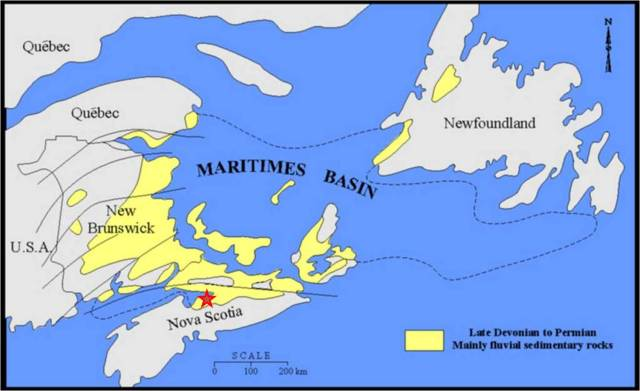 Maritimes Basin with Rainy Cove