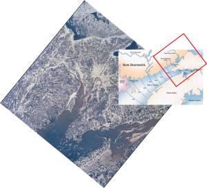 NASA image annotated